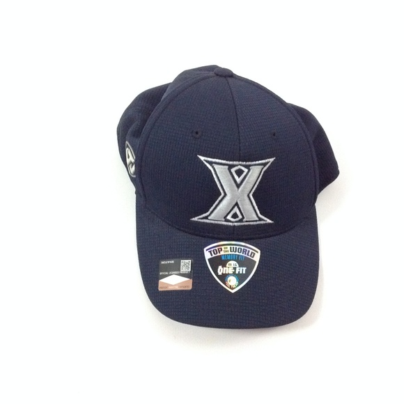 best service b4a85 03ea5 New Xavier Navy Booter Plus Flex Mens Baseball Hat. NWT. Top of the World